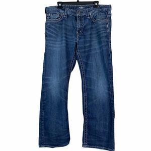Silver Jeans Nash Mens Size W 36 X L 30